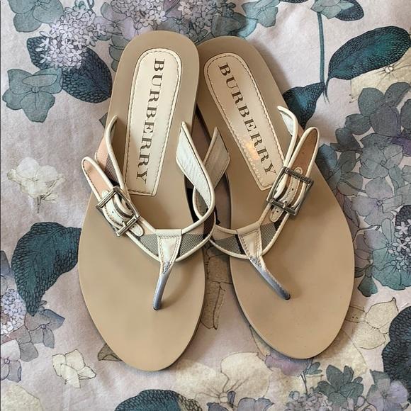 d0e556502446 Burberry Shoes - Burberry flip flops